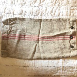 Pottery Barn Lumbar Burlap Pillowcover